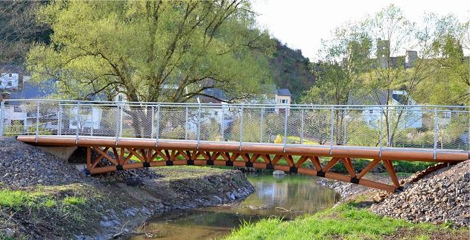 Die Brücke in Koplettsicht