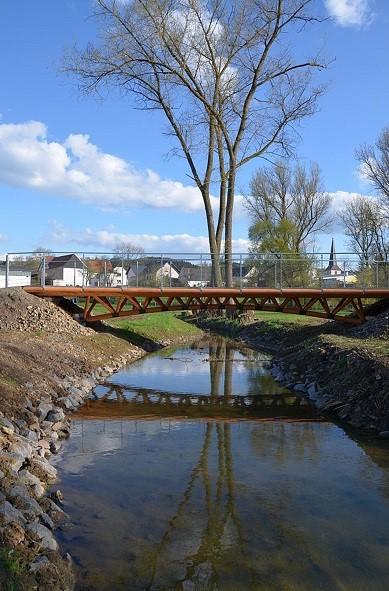 Brücke über den Hühnerbach