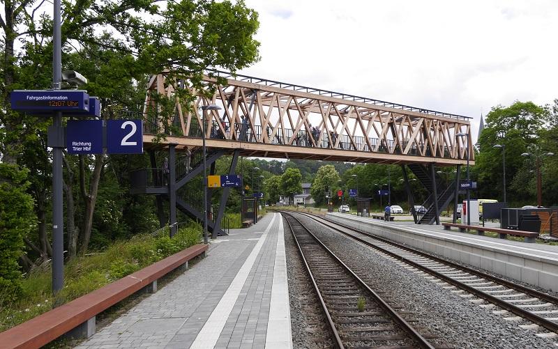 Holzbrücke in Nettersheim