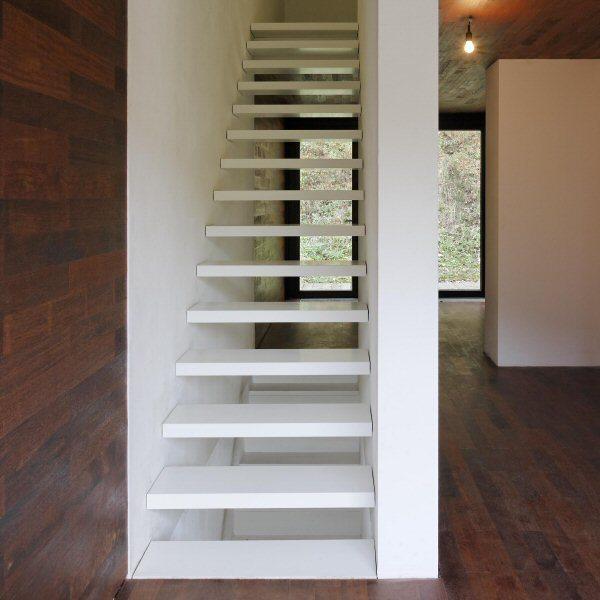 Treppendetail des Haus am See