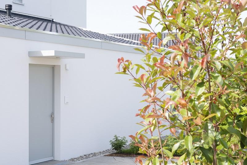 Eingang eines der Häuser