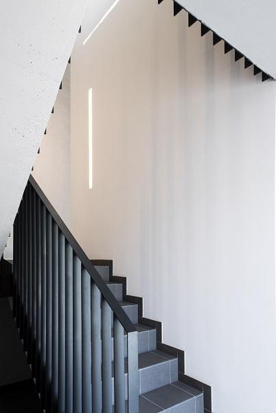 Zentrales Treppenhaus