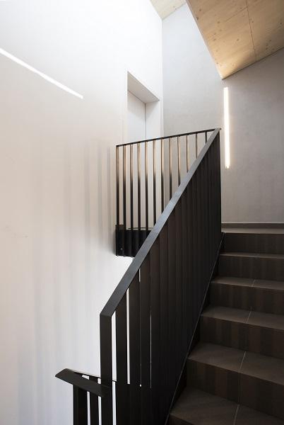 Obergeschoss des Treppenhauses