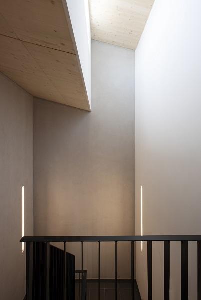 Deckendetail im Treppenhaus
