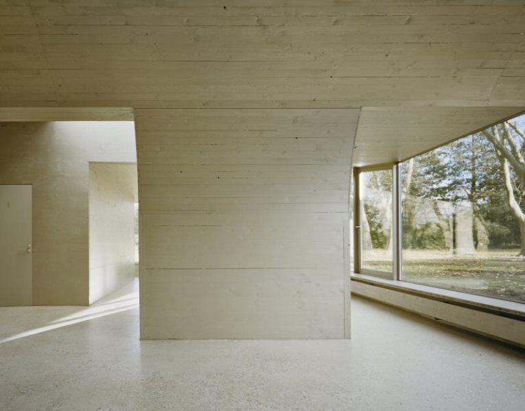 Pavillon Düren: Innenansicht Räume