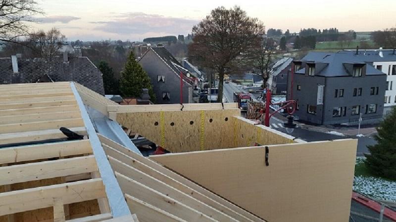 Baustelle Dachgeschoss: Gaube