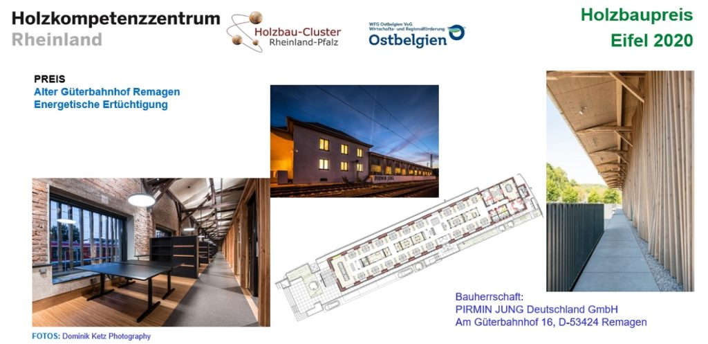 Tafel zum Projekt Güterbahnhof