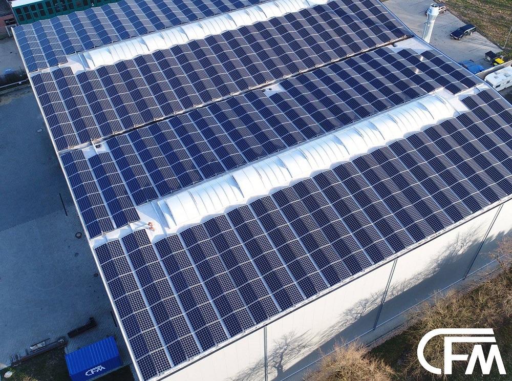 Photovoltaikanlage mit 333KW