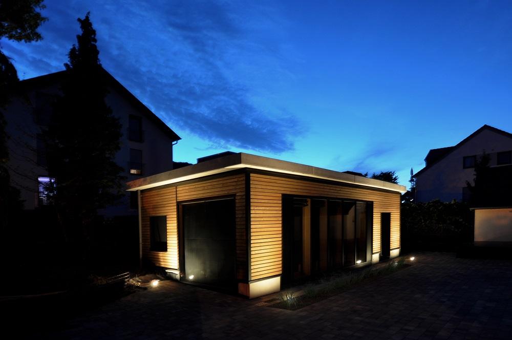 Energie autarkes Gebäude in Modulbauweise