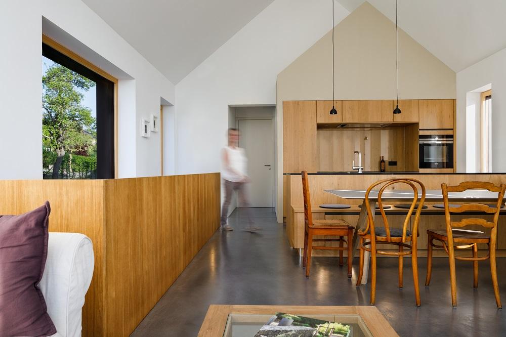 Klare und einfache Innenausstattung