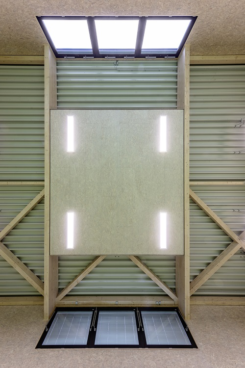 Gezielt angeordnete Schalabsorber- und Schalreflektorflächen