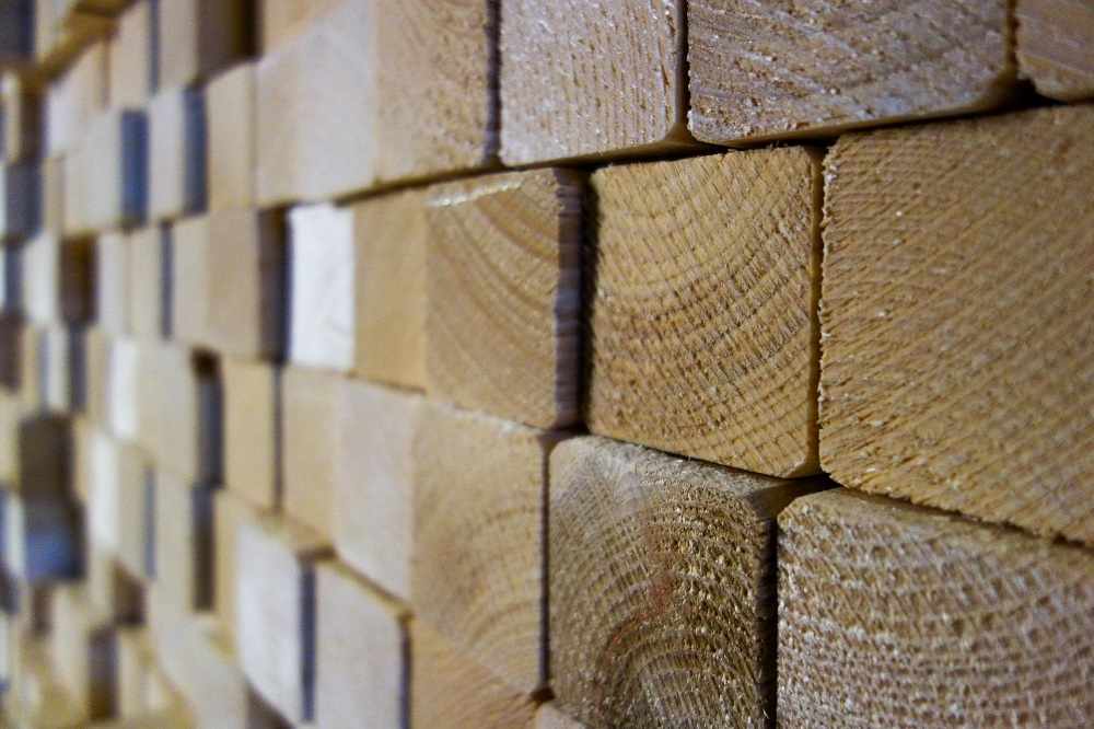 Konsequente Einsatz von Holz als Baustoff