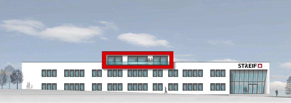 Büro und Verwaltungsgebäude in Planung